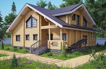 3D визуализация проектов деревянных домов