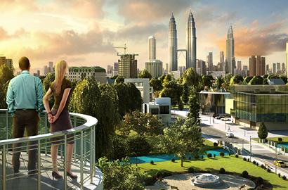 3D графика города