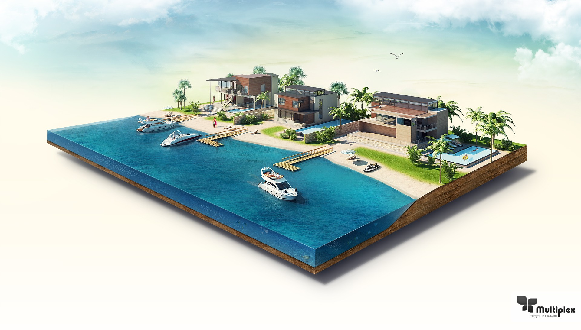 3D моделирование зданий