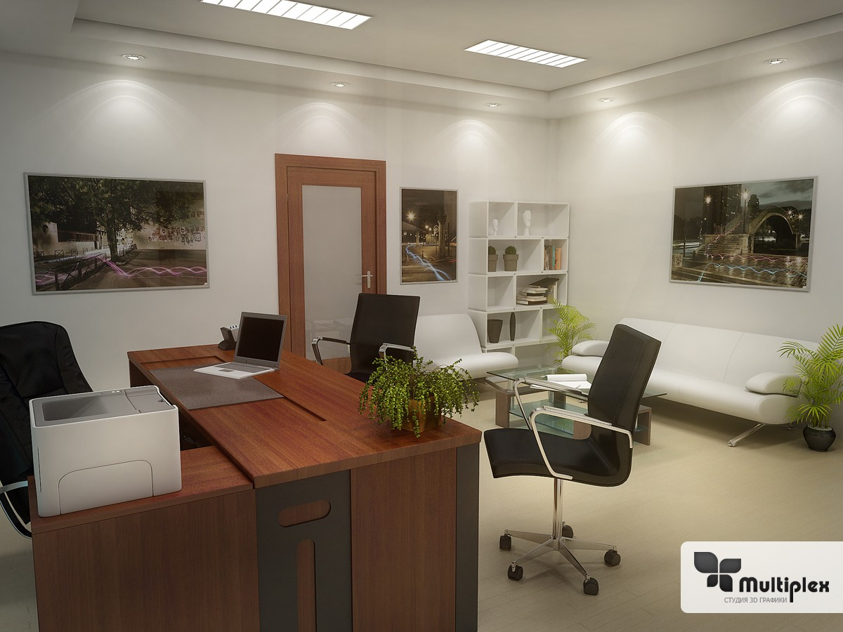 3D office vizualization