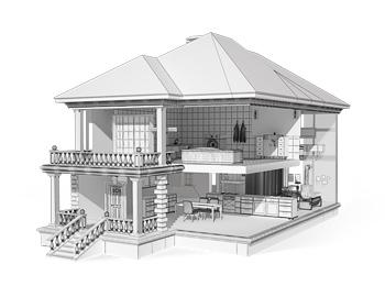 3D моделирование зданий на заказ